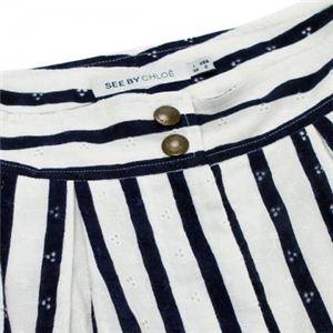SEE BY CHLOE(シーバイクロエ) レディーススカート  G43500 96 ネイビー L46 WA66 H96