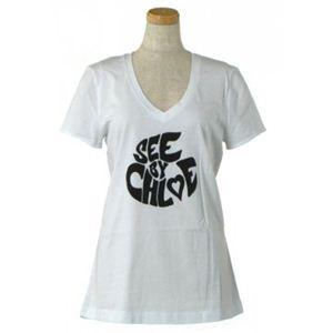 SEE BY CHLOE(シーバイクロエ) レディースTシャツ  4A2202 A00 ホワイト
