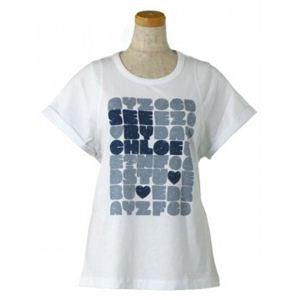 SEE BY CHLOE(シーバイクロエ) レディースTシャツ  4A2303 A00 ホワイト