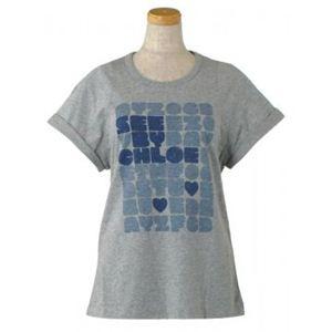 SEE BY CHLOE(シーバイクロエ) レディースTシャツ  4A2303 B588 グレー