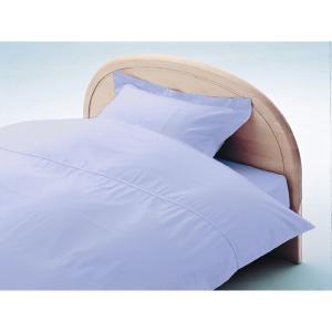 アーミッシュカラーベッド用BOXシーツ セミダブル スノーバイオレット 120cm×200cm×27cm - 拡大画像