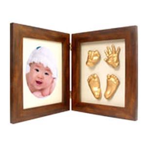 こんにちは!(赤ちゃんの手形・足形メモリアルグッズ) - 拡大画像