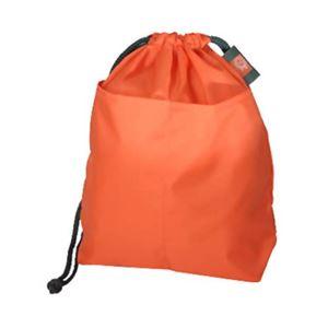 プロト・ワン 消臭ランドリーバッグS(オレンジ) - 拡大画像