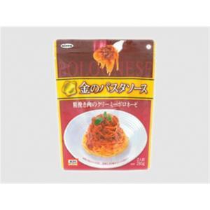 日本製粉 オーマイ 金のパスタソース 粗挽肉のクリーミーボロネーゼ(×6) - 拡大画像