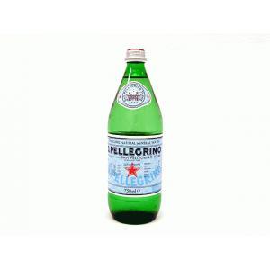 ミネラルウォーター サンペレグリノ 750ml 瓶(×12)