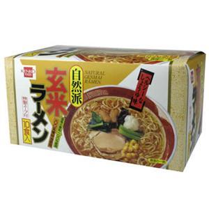 健康フーズ 玄米ラーメン 87g*10袋 - 拡大画像