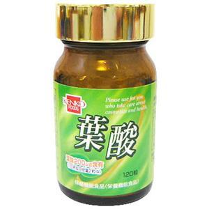健康フーズ 葉酸 120粒 画像1