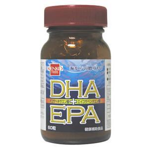 健康フーズ DHA+EPA 60粒 - 拡大画像