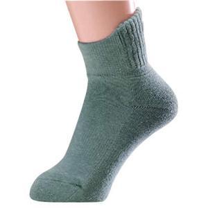 片手ではけるやさしい介護用靴下 同色2足組 グレー