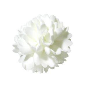 フラワーボディスポンジ ダリア ホワイト