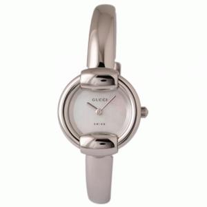 GUCCI(グッチ) 1400R YA014510 レディースウォッチ(ホワイトシェル文字盤) - 拡大画像