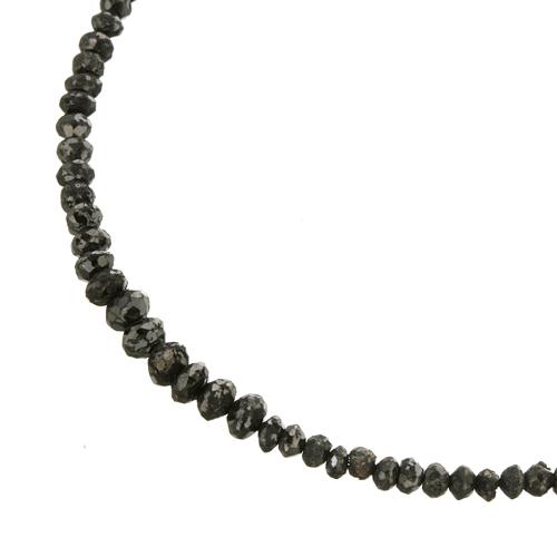 販売終了           20CTブラックダイヤモンドネックレス