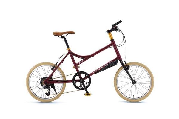 CORVETTE(コルベット) 自転車 20インチ AL-MINIVELO207 レッド