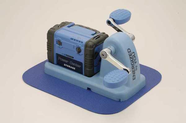 エクササイズペダル型 エコ充電器 まわしてチャージ 充電丸