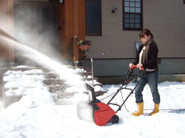 電動除雪機 スノーエレファント