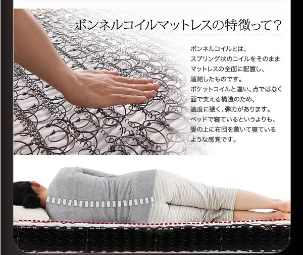 2万円で買えるベッド 弾力性のある寝心地で布団で寝ているような感覚が好きな方におススメ