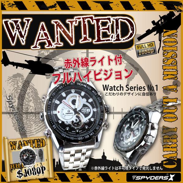 腕時計型カメラ