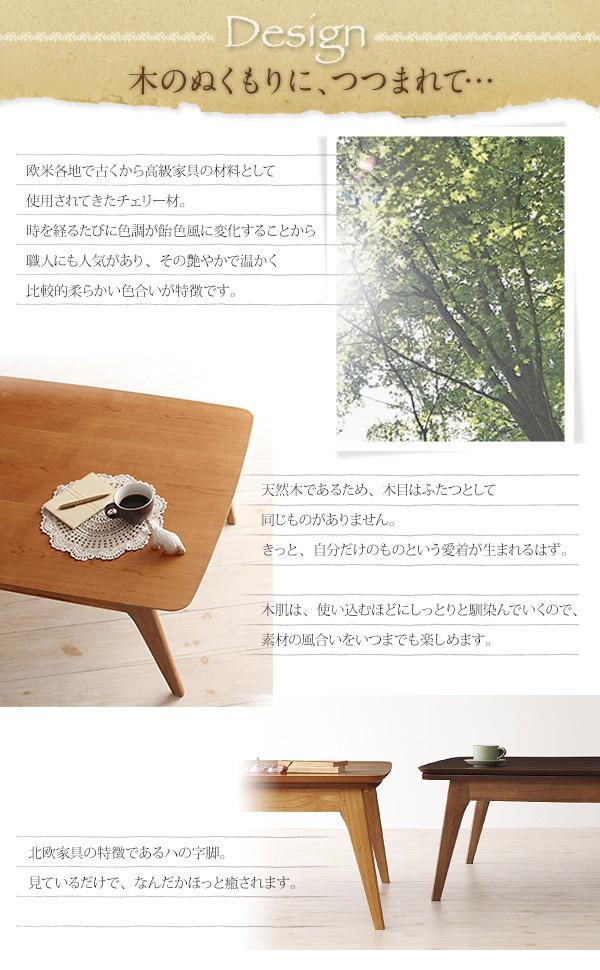 Milkkiシリーズ こたつ フラットヒーター 画像03