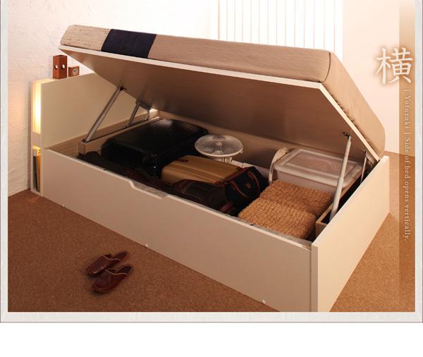 8万円で買えるセミシングル 収納ベッド、家具専門店で人気のデザインのダブルベッド