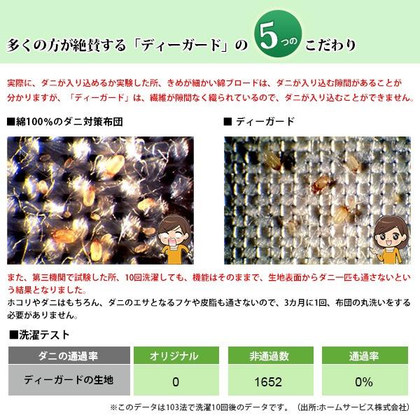 30000円で販売 ディーガード敷布団 シングル アイボリー 【ダニ対策・ダニ予防敷き布団