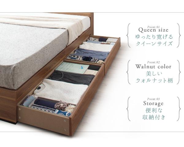 7万円で買える大きいベッド 雪のような真っ白なベッド。ガールズルームにぴったりのカラー
