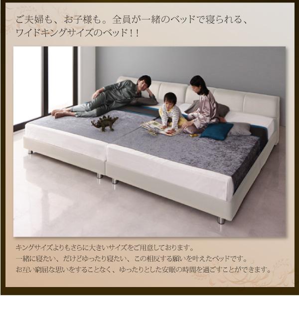 【すのこベッド】モダンデザインレザーベッド【WILHELM】ヴィルヘルム