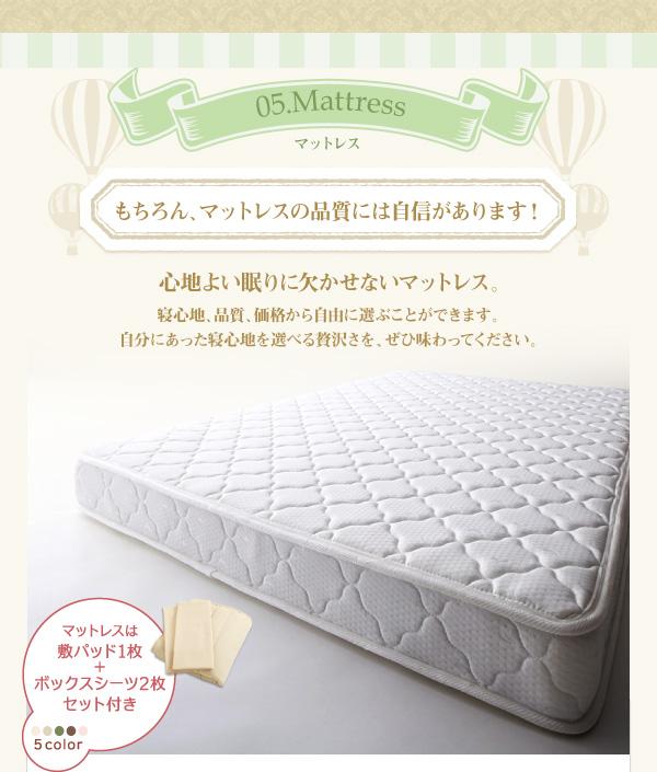 心地よい眠りに欠かせないマットレスは全て保証付き