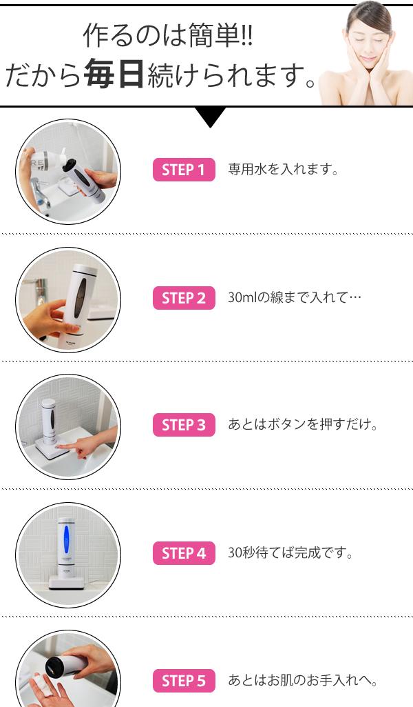 自作の安心な化粧水・美容液を簡単に!