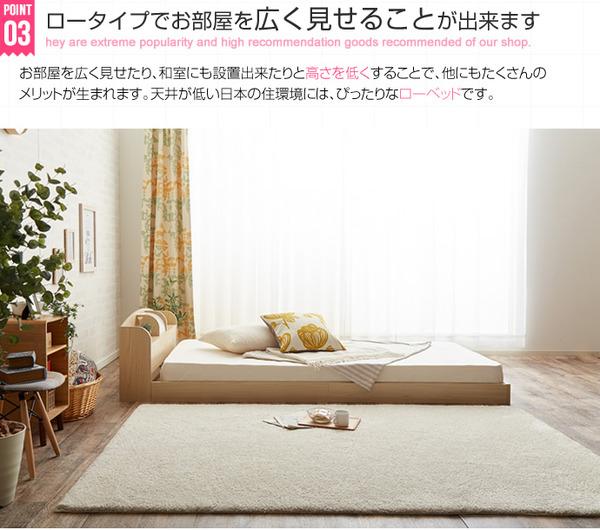 2万のダブルベッド、狭いスペースにも置けるショート丈、ショート幅のベッド
