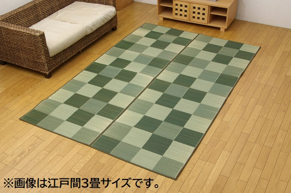 い草ラグ 長方形サイズ 画像