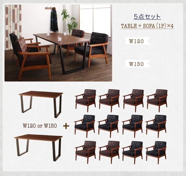 ソファーダイニングテーブルセット【BEDOX ベドックス】画像23