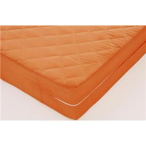 20色ソファーマットレス シングル サンセットオレンジ - 拡大画像