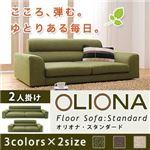 ソファー 2人掛け ブラウン フロアソファ【OLIONA Standard】オリオナ・スタンダード