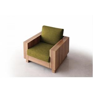 ソファー 1人掛け モスグリーン デザインソファ【ANSELM】アンセルムの詳細を見る