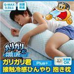 【単品】抱きまくら ガリガリ君【Plus】接触冷感ひんやり