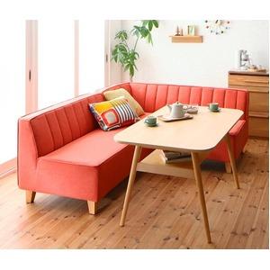 洗えるゆったりソファーのダイニング ソファーダイニングテーブルセット【Coppia コッピア】