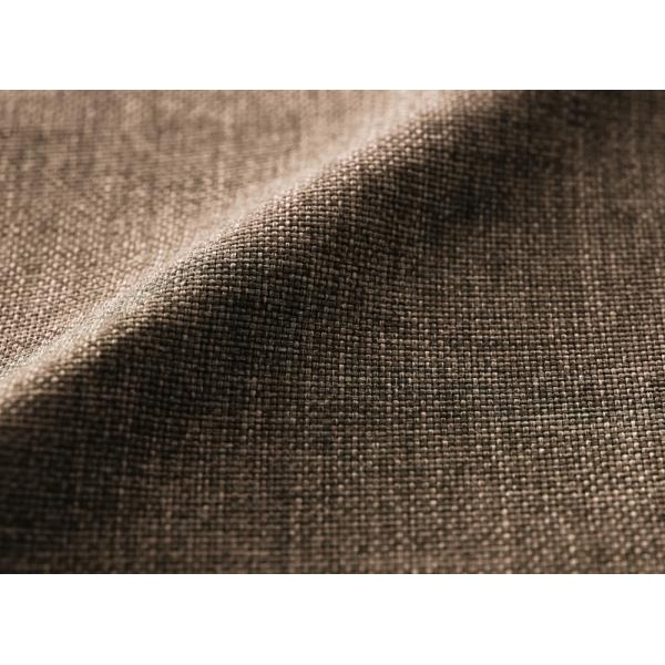 クッションラグマット 大サイズ 250×174cm ブラウン 年中清潔 フロアソファになる洗えるクッションラグ