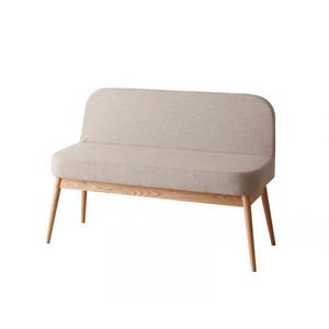 ソファーベンチ 座面カラー:ベージュ やさしい色合いの北欧スタイル ソファベンチ ダイニング Peony ピアニー