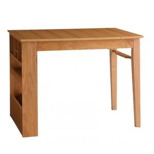【テーブルのみ】ダイニングテーブル 幅100-135cm テーブルカラー:ハニーナチュラル 100cmから伸びる コンパクトエクステンションダイニング popon ポポン
