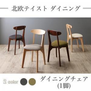 【テーブルなし】 チェア1脚    座面カラー:グリーン  北欧テイスト ダイニング Lucks ルクス - 拡大画像