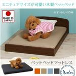 【ベッド別売】マットレスのみ 寝具カラー:ライトブルー ミニチュアサイズが可愛い木製ペットベッド Catnel キャトネル
