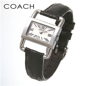 COACH (コーチ)ブライダル クロコレザーウォッチ 14500717 ブラック - 拡大画像