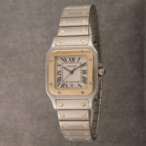 Cartier (カルティエ) レディースウォッチ W20012C4 サントスガルベ SG SM - 拡大画像