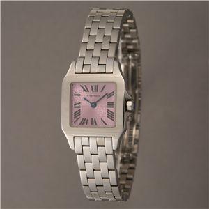 Cartier (カルティエ) レディースウォッチ W2510002 ドゥモアゼル SM パープル - 拡大画像