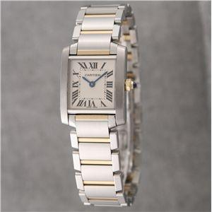 Cartier (カルティエ) レディースウォッチ W51007Q4 フランセーズ SG SM - 拡大画像