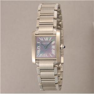 Cartier (カルティエ) レディースウォッチ W51034Q3 フランセーズ SS SM BLMOP - 拡大画像