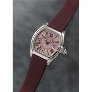 Cartier (カルティエ) レディースウォッチ W62017V3 ロードスター SM ピンクダイヤル - 拡大画像