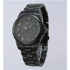 MARC BY MARC JACOBS(マークバイマークジェイコブス) 腕時計 MBM3113 ブラック - 拡大画像