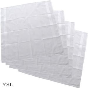 YSL (イヴサンローラン)ハンカチ 4枚セット - 拡大画像
