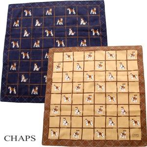 CHAPS ハンカチ 4枚セット - 拡大画像